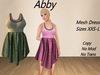 Abby Dress Green