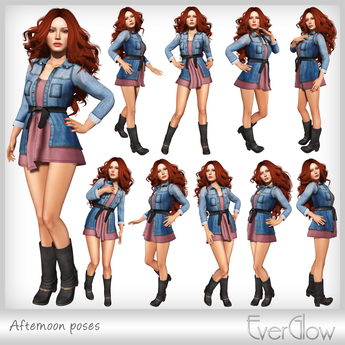 *EverGlow* - Afternoon poses