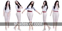 -Lalochezia- Shades of Cool Pose Set