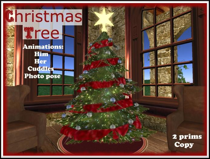 *Gift * Christmas Tree - Sits, Cuddles & Photo Pose