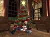 Christmas tree with animations 010