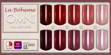 [LB Solids Metallic S1 Red] OMNI Set - Slink Omega Maitreya