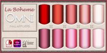 [LB Solids Matte S1 Red] OMNI Set - Slink Omega Maitreya