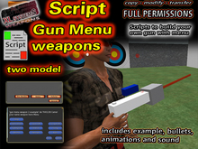 Script gun menu weapons box