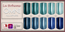 [LB Solids Chrome S6 Blues] OMNI Set - Slink Omega Maitreya