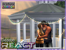 Romantic Fireworks Beach Gazebo Set! w/ Sparklers Props Featuring All New ReACT Animation System tagreact