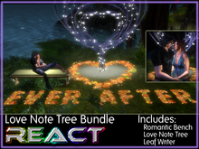 The *Valentine* Love Note Tree (Write love notes in leaves and cuddle) ~ Animated Scene ~ See Video