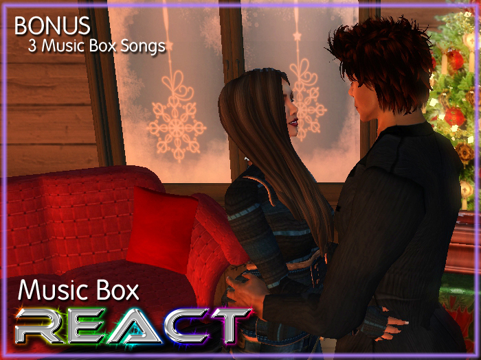 The Music Box with Dance, Kisses, Hug, Hold Hands Powered By ReACT Animation System. NO POSEBALLS !