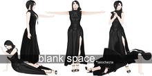 -Lalochezia- Blank Space Pose Set