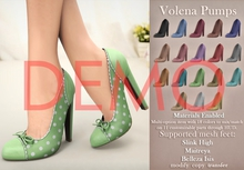 [DEMO] Mutresse . Volena Pumps - 18 Colors for Slink/Maitreya/Belleza