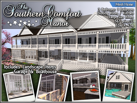 The Southern Comfort Manor (Packaged)