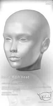 CATWA HEAD Annie DEMO
