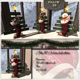 !! Follow US !! Sock trees pack (red) COPY version
