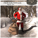 """Special Christmas price !! Follow US !! Santa Claus """"Oh Oh Oh"""" natural bag COPY version"""