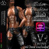 V-Twins - Biker Outfit - Black Diamond Male Version [Omega Appliers]