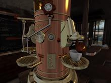 03_8f8 - La Petite Joie Cafe - Espresso Machine RARE