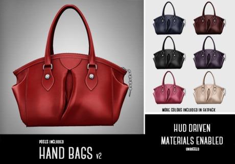 SALE - ILLI - Handbags v2 (with hold pose)
