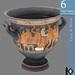 3D / Greek Vase / 6 land impact