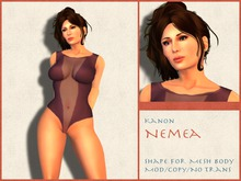 Kanon Female Shape - Nemea DEMO - For Slink Physique Hourglass