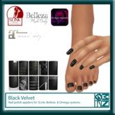 DMZ - Manicure - Black velvet V 2.0