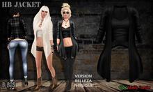 B BOS -HB Jacket-Wool Black-