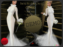Bridal Wedding Dress - Diana DEMO
