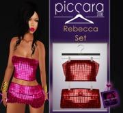- piccara - :: Rebecca Set - Red