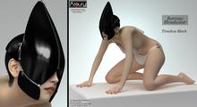 AZOURY - Sorrow Headwear (Timeless Black)