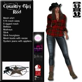 Country Couture Country Girl Red v2