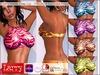 LARRY JEANS - Halter Crop Top - 6 Fun Color Pack