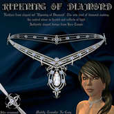 """Ripening of Diamond"" elegant necklace"