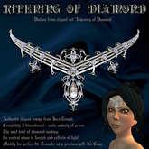 """""""Ripening of Diamond"""" elegant diadem (tiara, circlet)"""