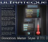 Donation Meter Black