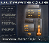 Donation Meter Grunge