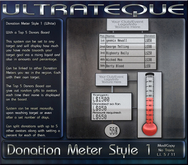 Donation Meter White