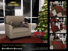 Invidah* Cozy Holiday Chair & Rug