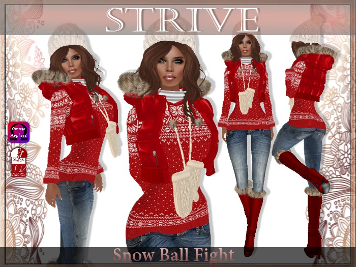{SD} SNOW BALL FIGHT (Slink & Omega Appliers)