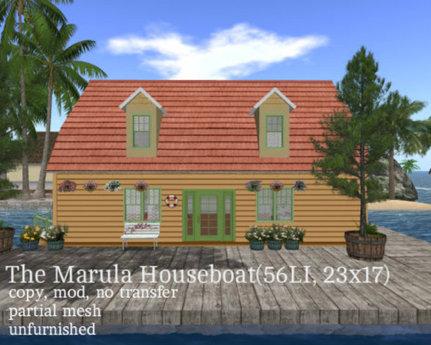The Marula Houseboat(56LI, 23x17)