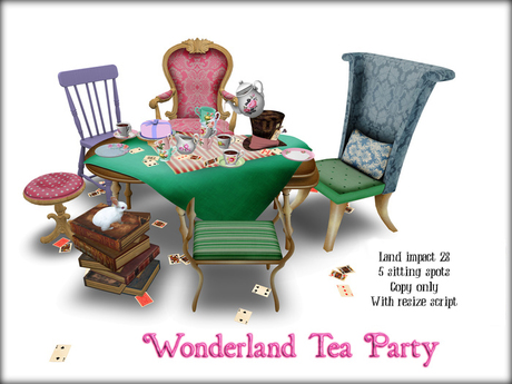 Boudoir-♠️ ♥️ Wonderland Tea Party ♦️ ♣️
