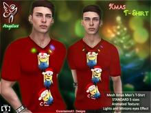 Camiseta Navidad de Hombre MInion