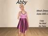 Abby Dress Pink