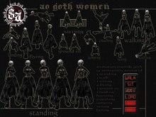 <sins'animation> ao women  Goth