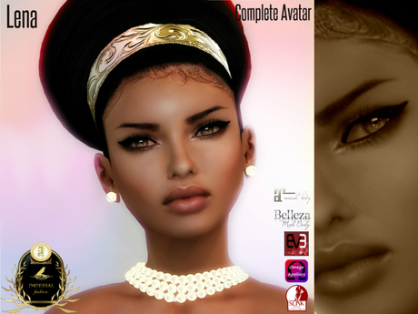 Second Life Marketplace Imperial Lena Complete Avatar
