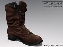 !APHORISM! Odyssey Boots  Black