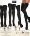MOREA STYLE -  MESH BOOTS - RILEY - BLACK