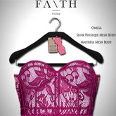 Faith/Sienna corset lace pink