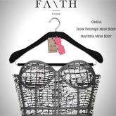 Faith/Sienna corset B&W