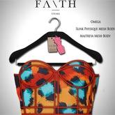 Faith/Sienna corset colors