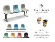 Soy. Shell Bench w/ color change (addme)
