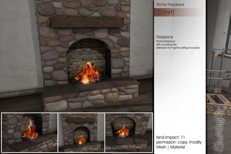 Sway's [Darret] Stone Fireplace